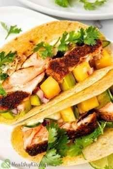 Blackened Salmon Tacos Recipe