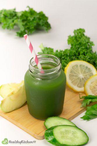 Green Vegetable Juice Recipe
