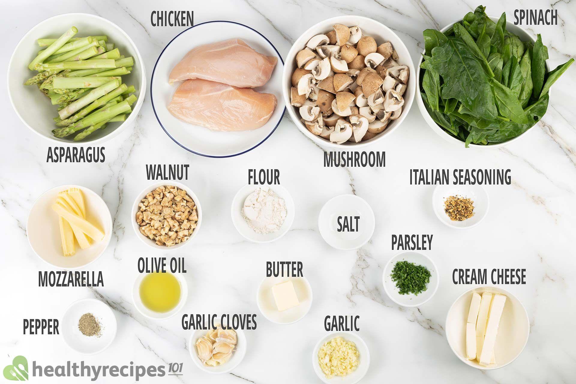 Stuffed Chicken Breast ingredients