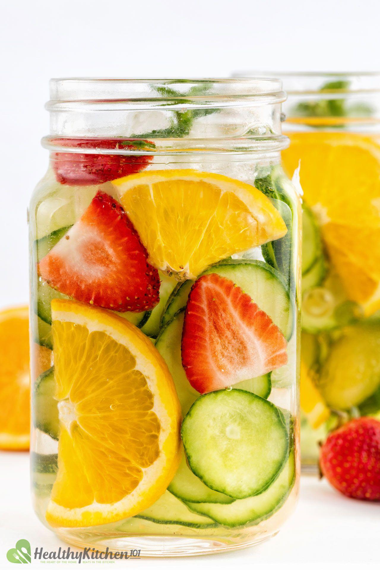 How To Make Cucumber Water Recipe