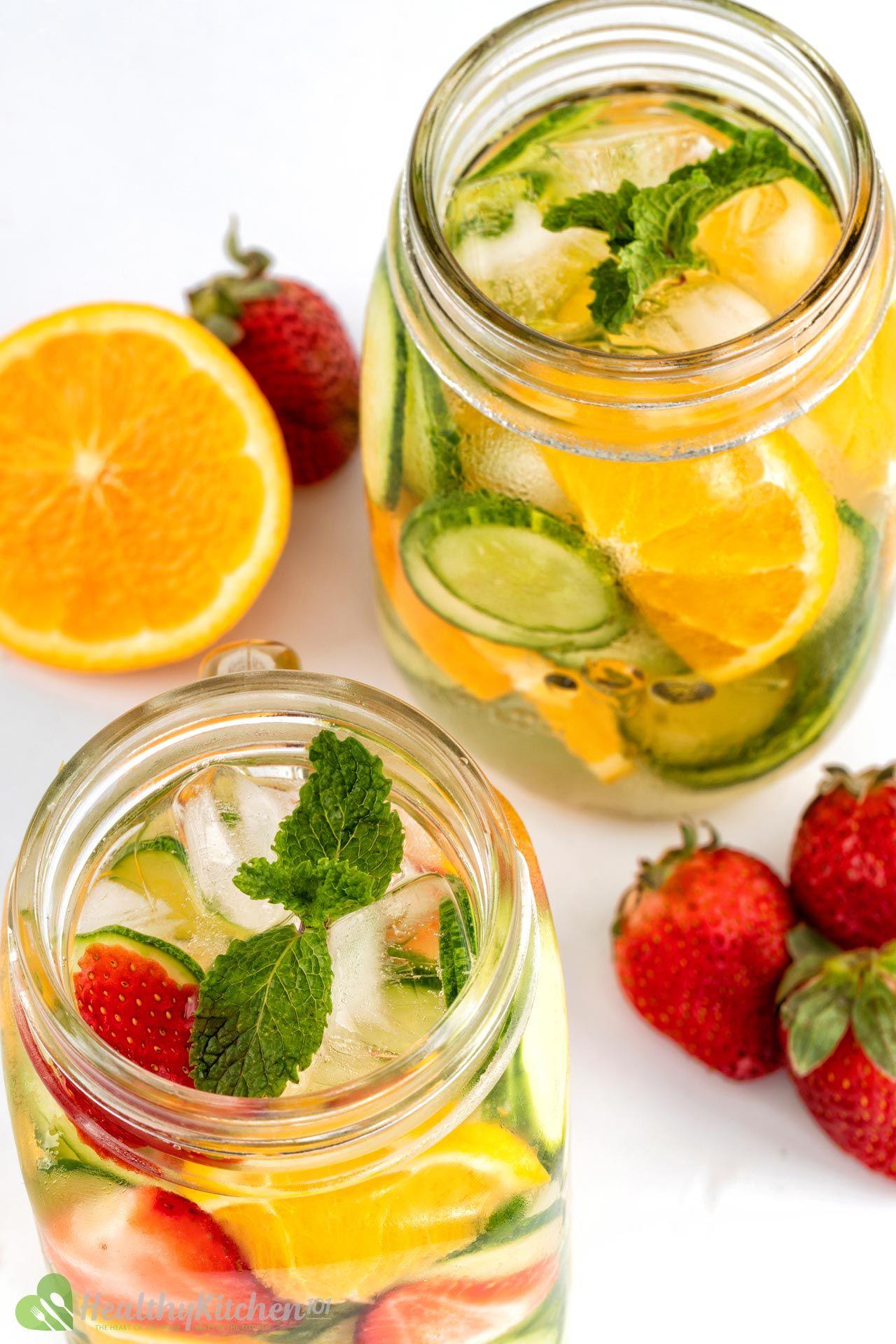 Healthy Cucumber Water Recipe