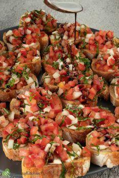 what bread used for Tomato Bruschetta