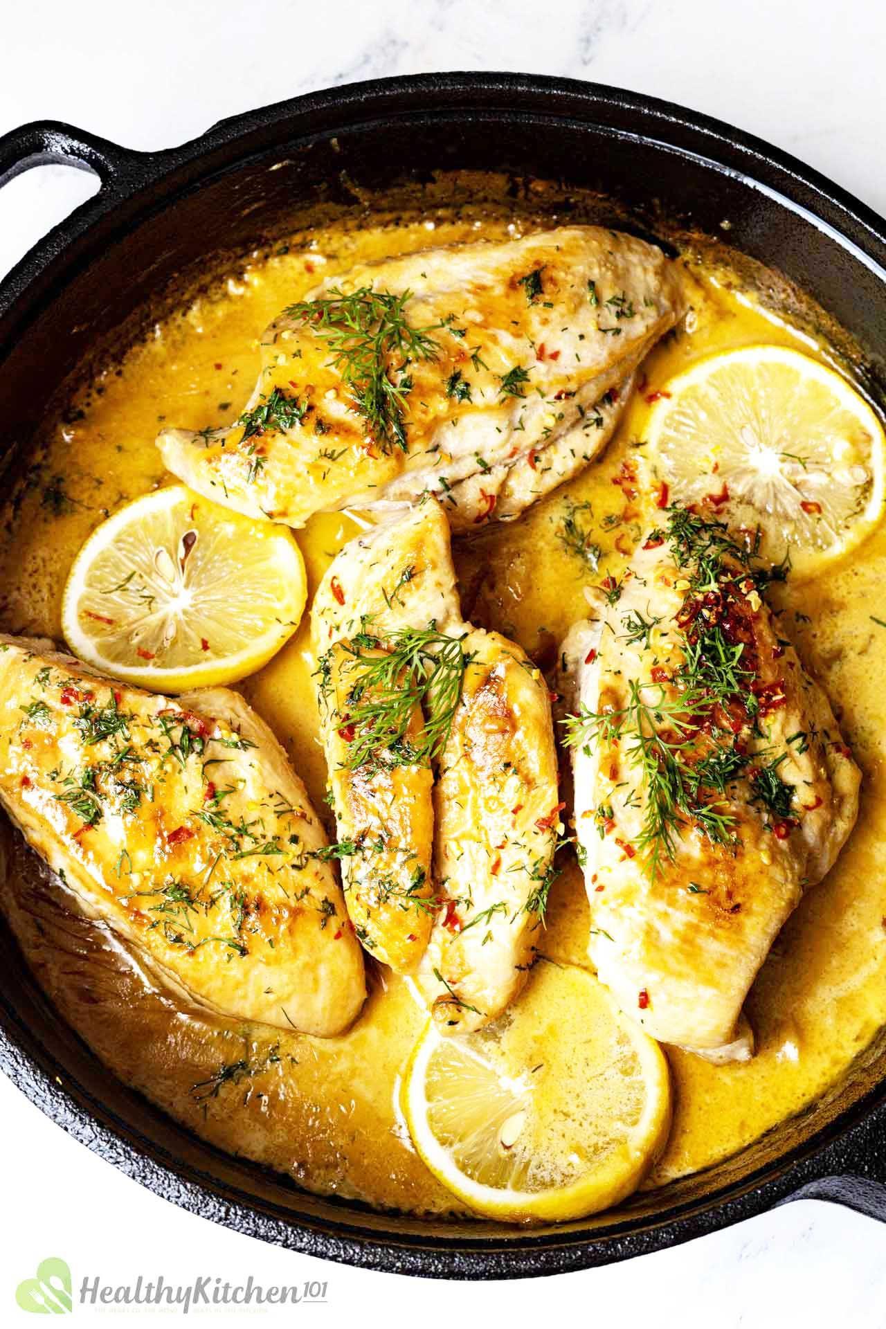 Homemade Healthy Lemon Chicken Recipe