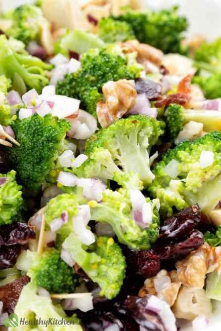 How to make homemade healthy Broccoli Salad Recipe