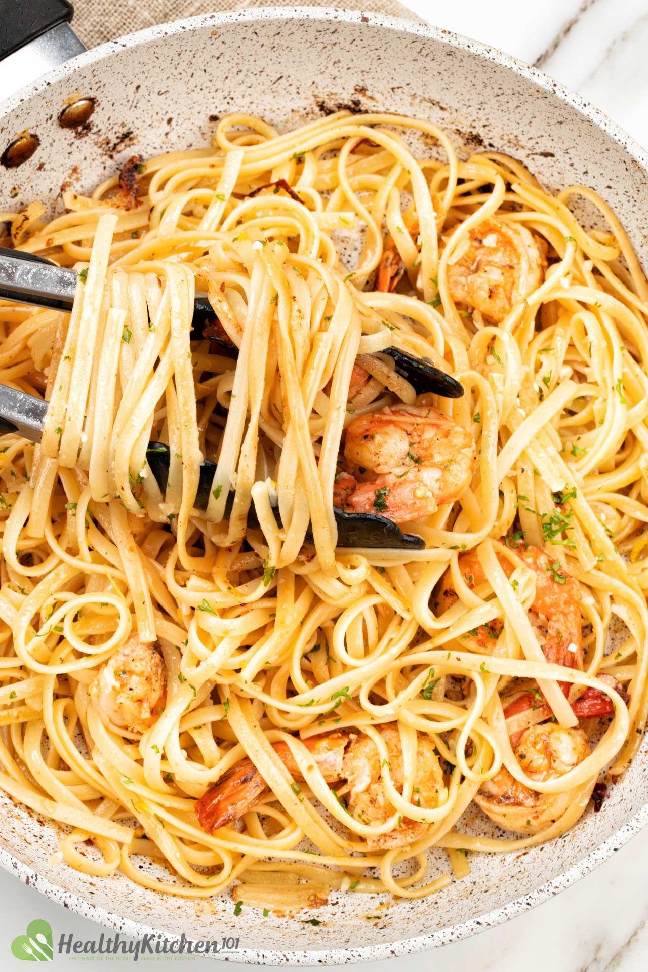 How to make Shrimp Scrampi Recipe