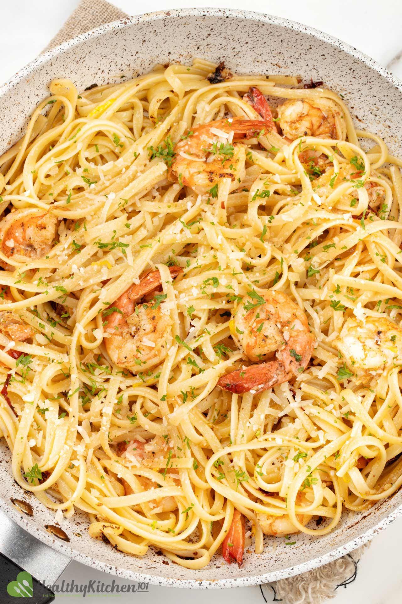 Homemade Shrimp Scrampi Recipe