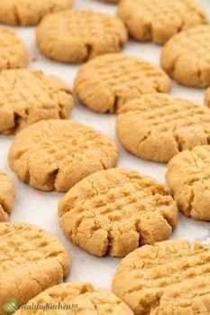 homemade peanut butter cookies recipe