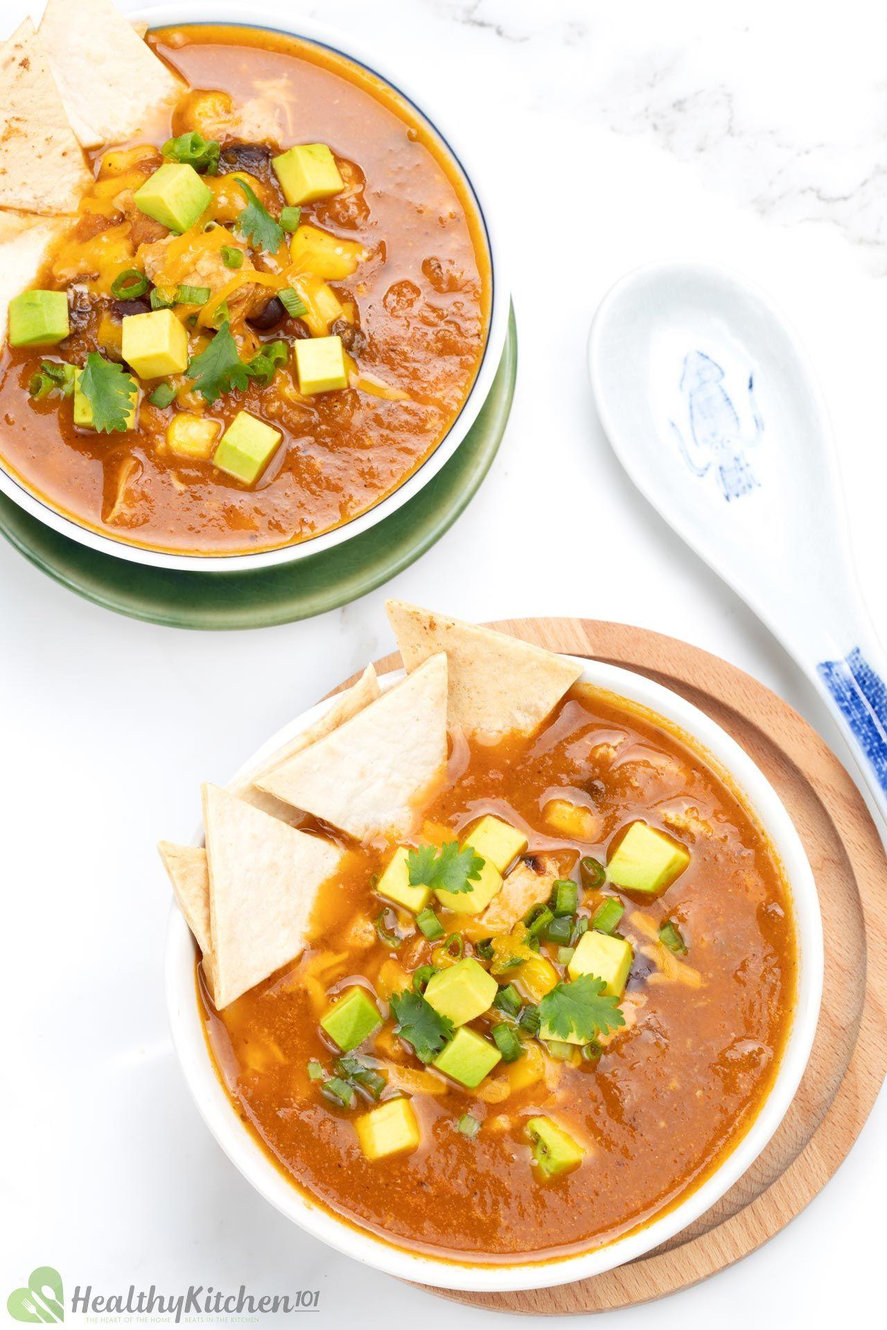 Is Chicken Tortilla Soup Healthy