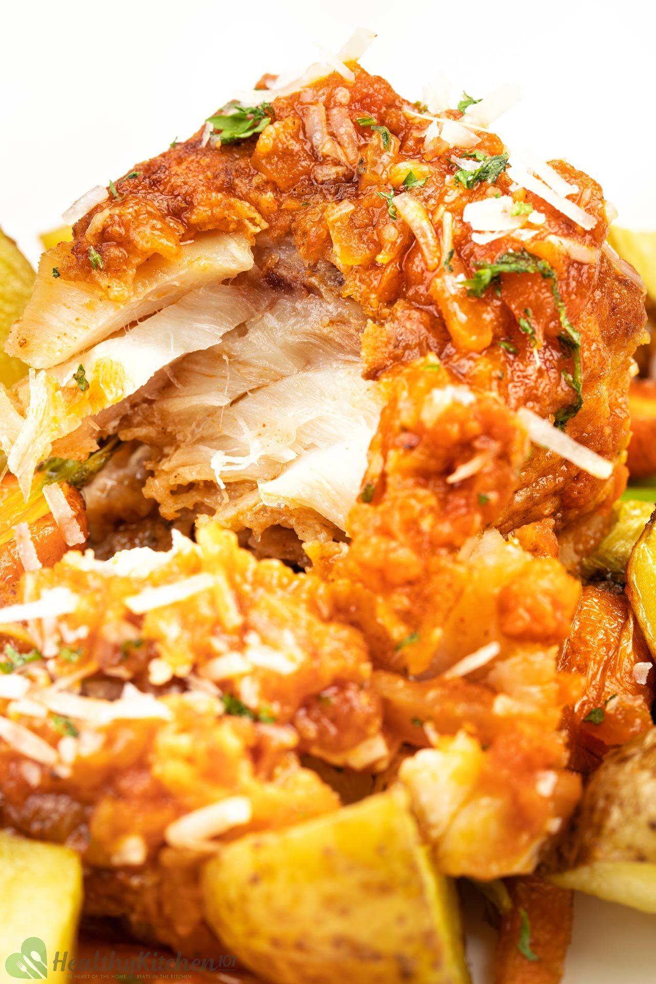 Homemade healthy Baked Cod Recipe