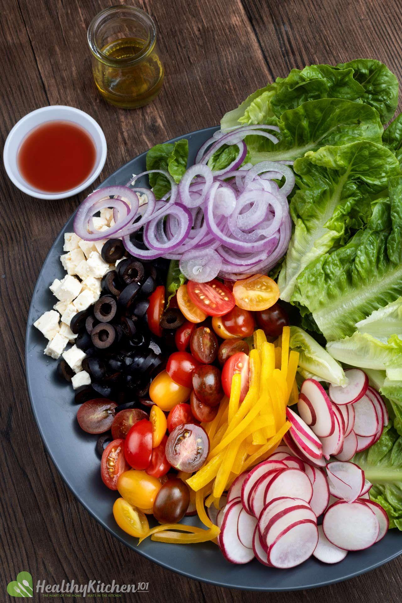 is Greek Salad healthy