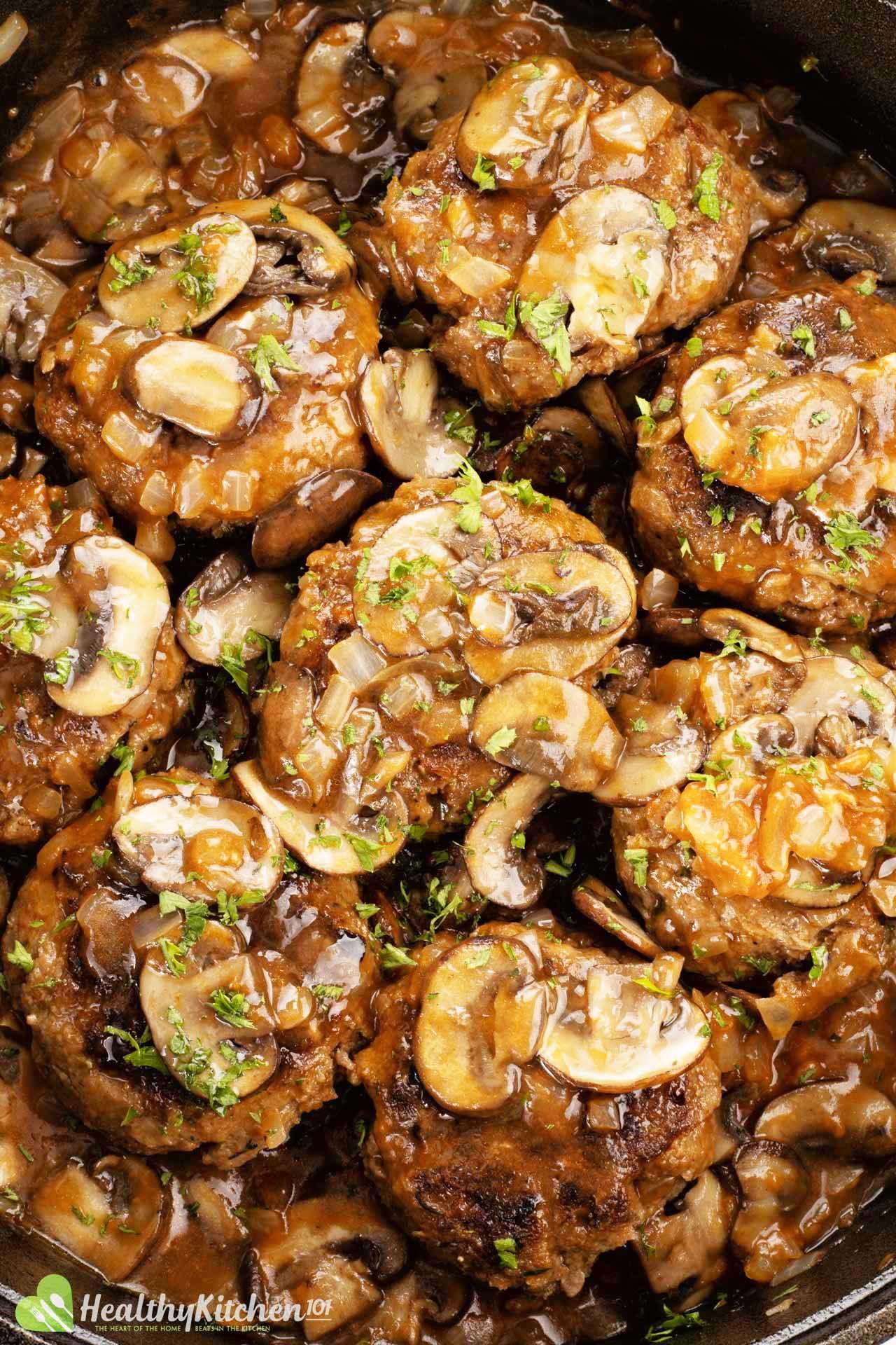 Homemade Salisbury Steak Recipe