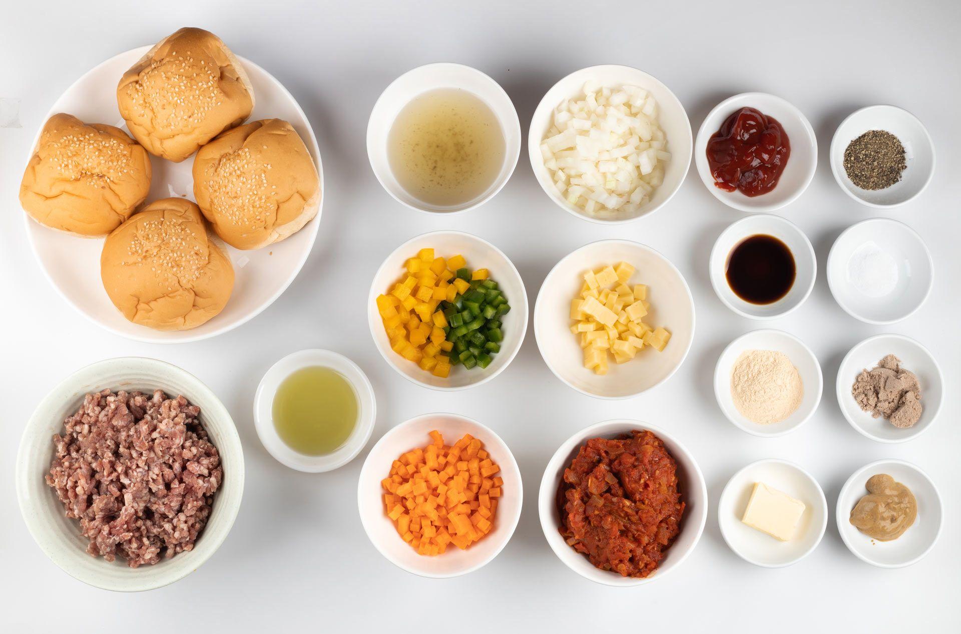 Sloppy Joe ingredients