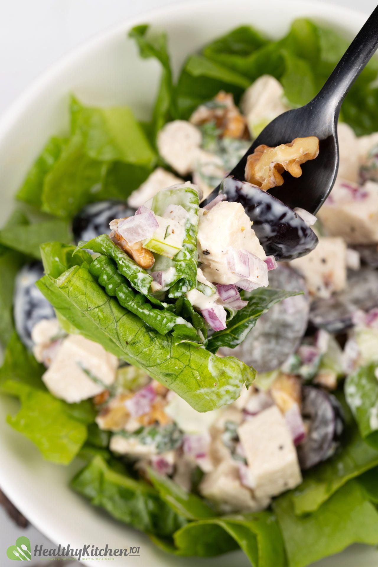 Healthy Waldorf Chicken Salad Recipe