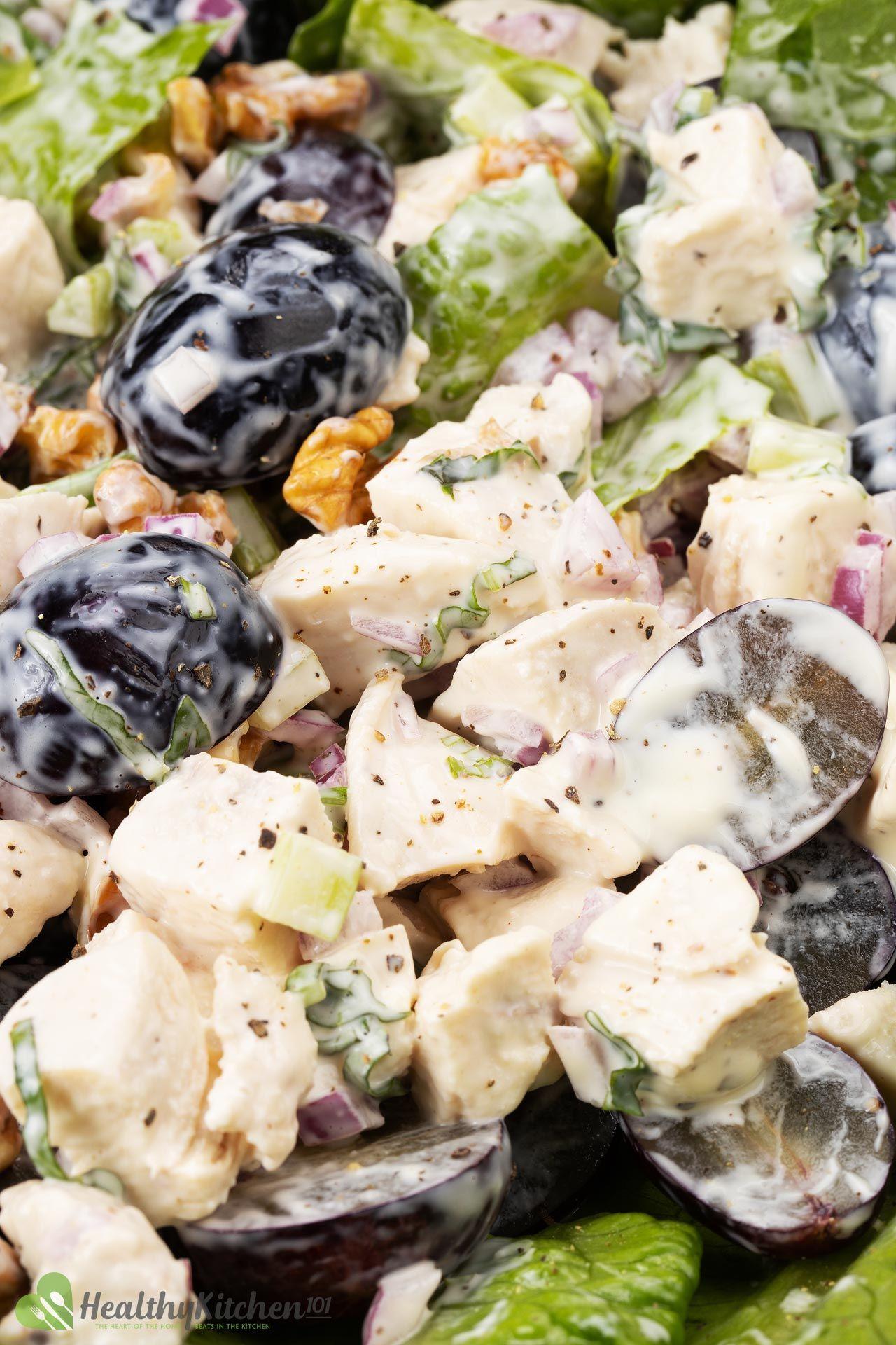 Homemade Waldorf Chicken Salad Recipe