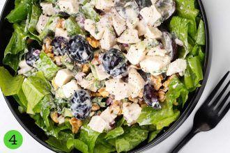 How to make Waldorf Chicken Salad step 4 serve