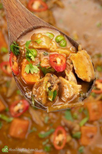 Homemade Thai Chicken Curry Recipe