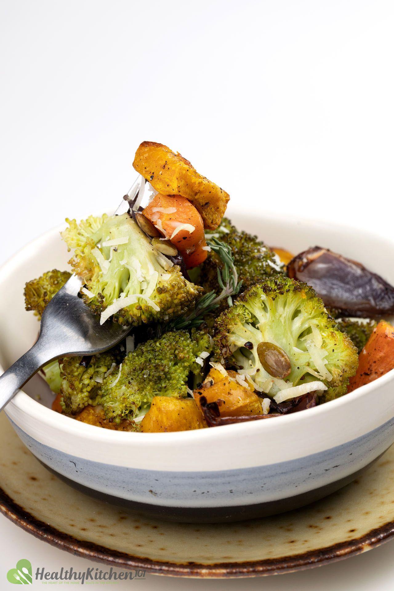 Homemade Roasted Broccoli Recipe