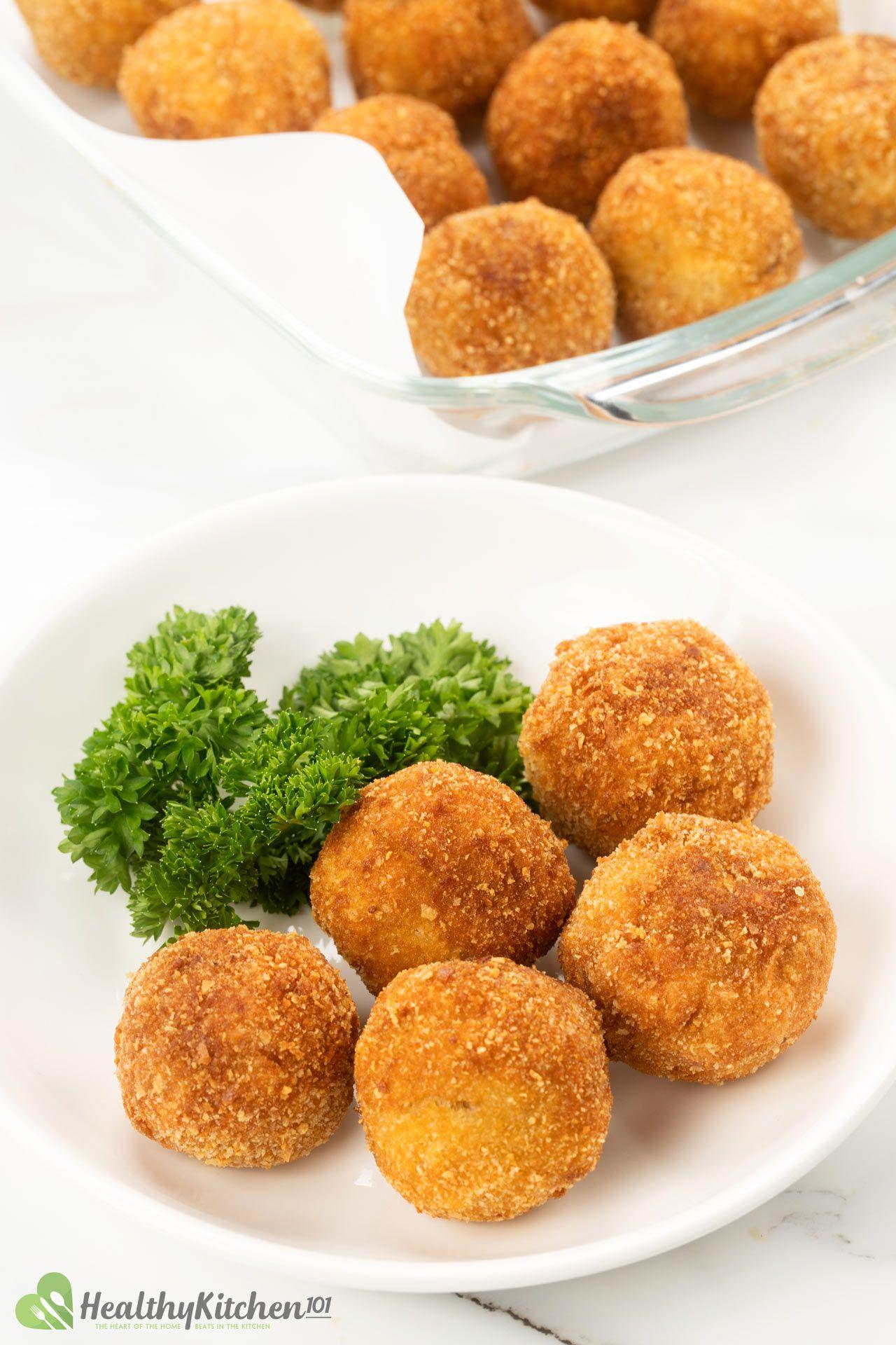 Homemade Arancini Recipe Rice balls