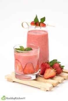 Strawberry Smoothie Recipe Healthykitchen101 3
