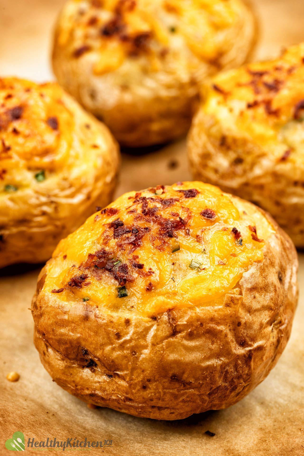 Homemade Baked Potatoes Recipe
