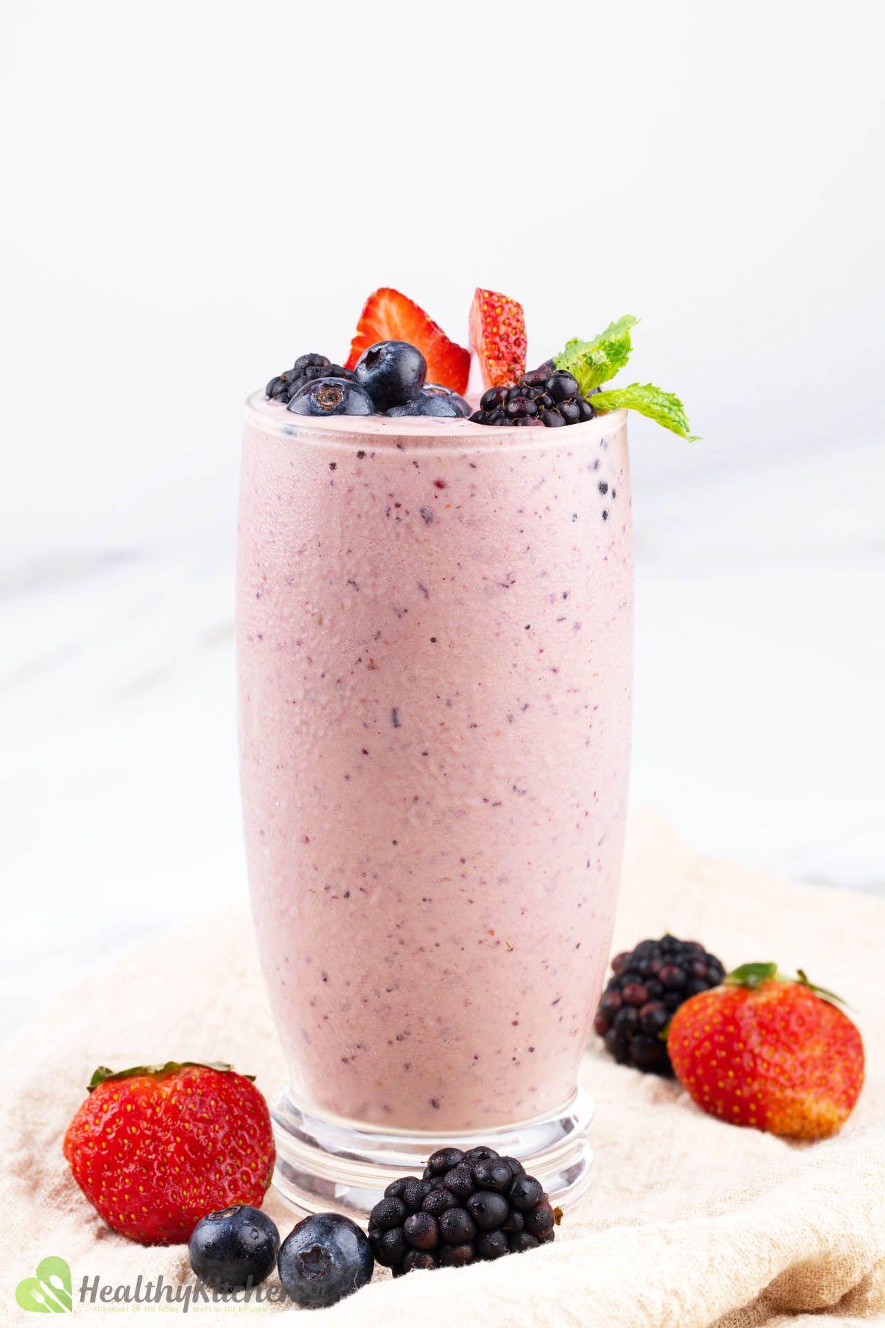 Healthy Frozen Fruit Smoothie Recipe