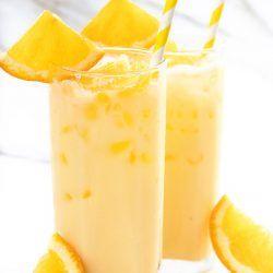 Milk and Orange Juice Recipe