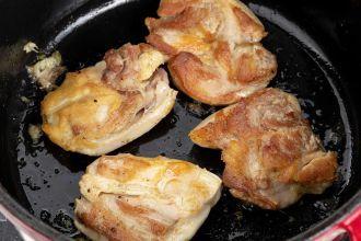 sear the chicken