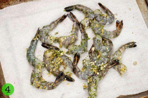 Step 4 Roast the shrimp