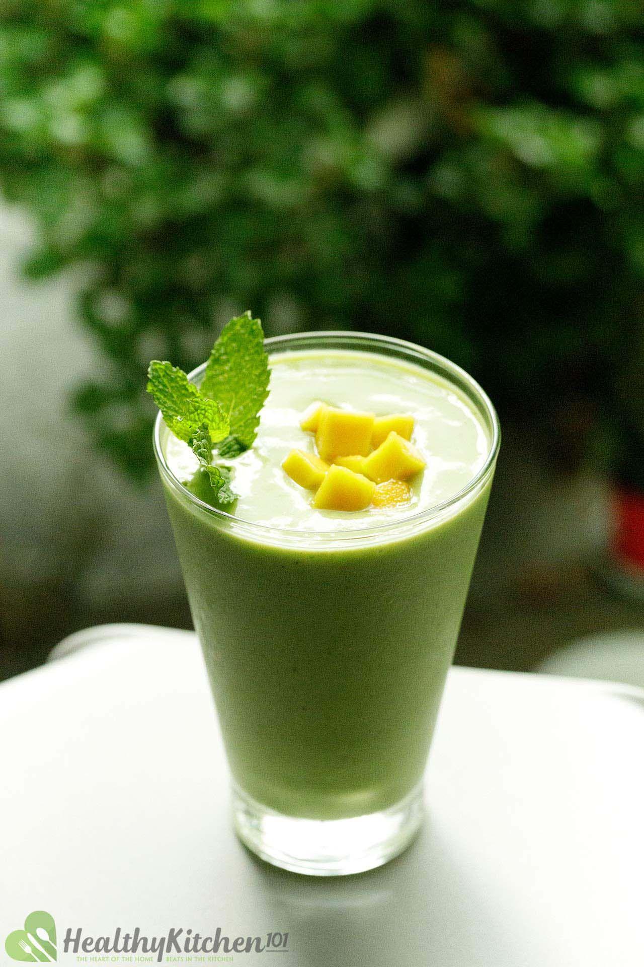 healthy mango smoothie recipe