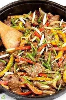 Pepper Steak Recipe Healthy Kitchen 101 2