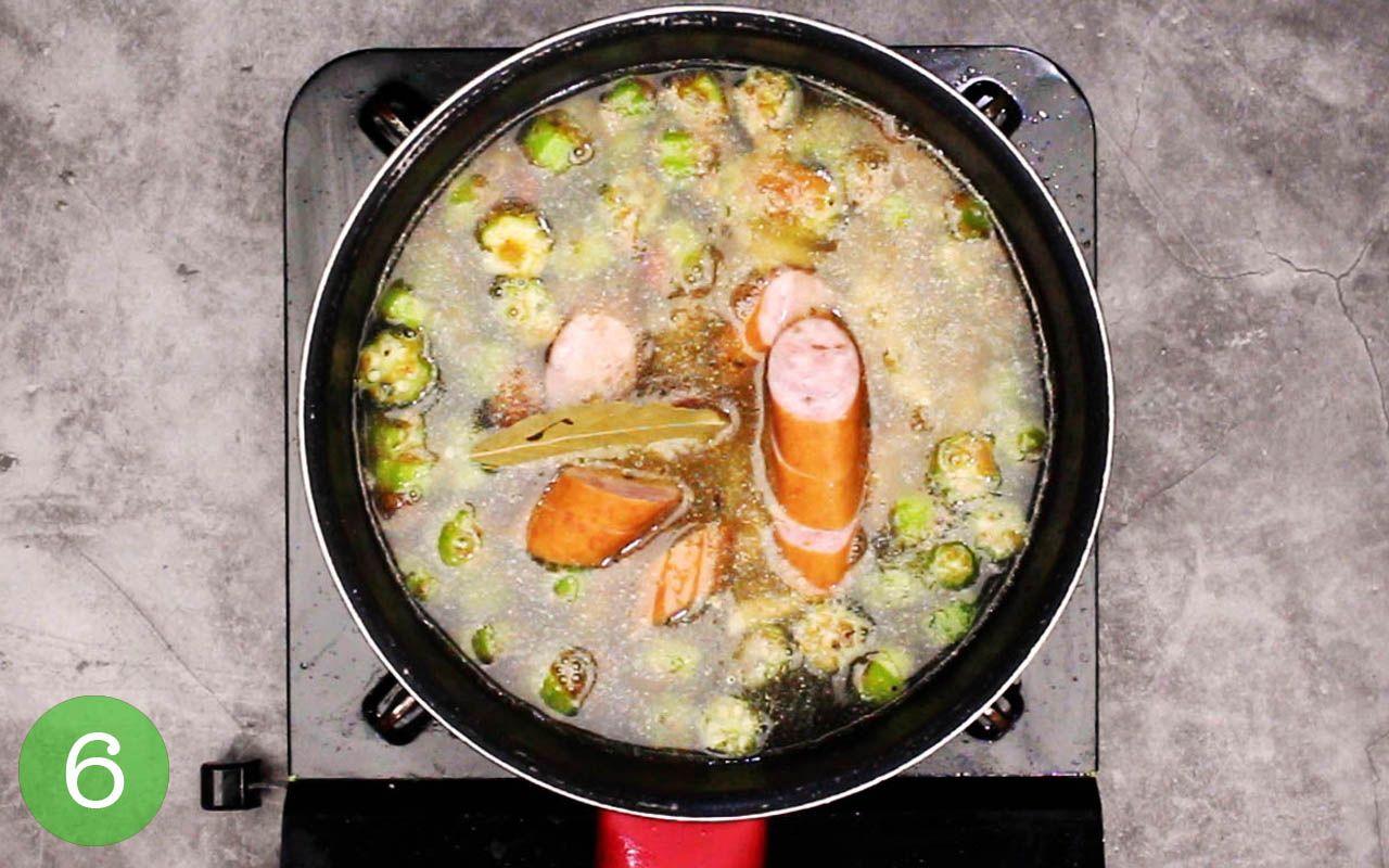 step 6 gumbo recipe