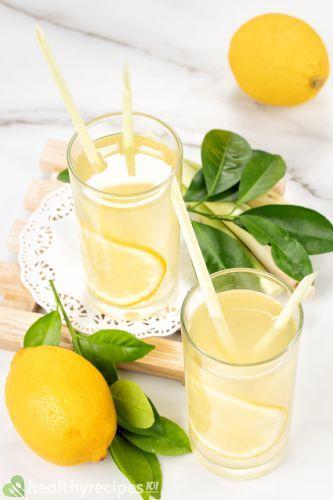 ACV and lemon juice recipe