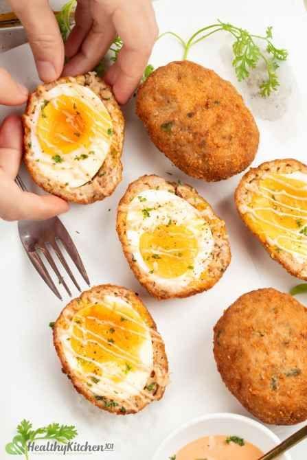 Are Scotch Eggs healthy