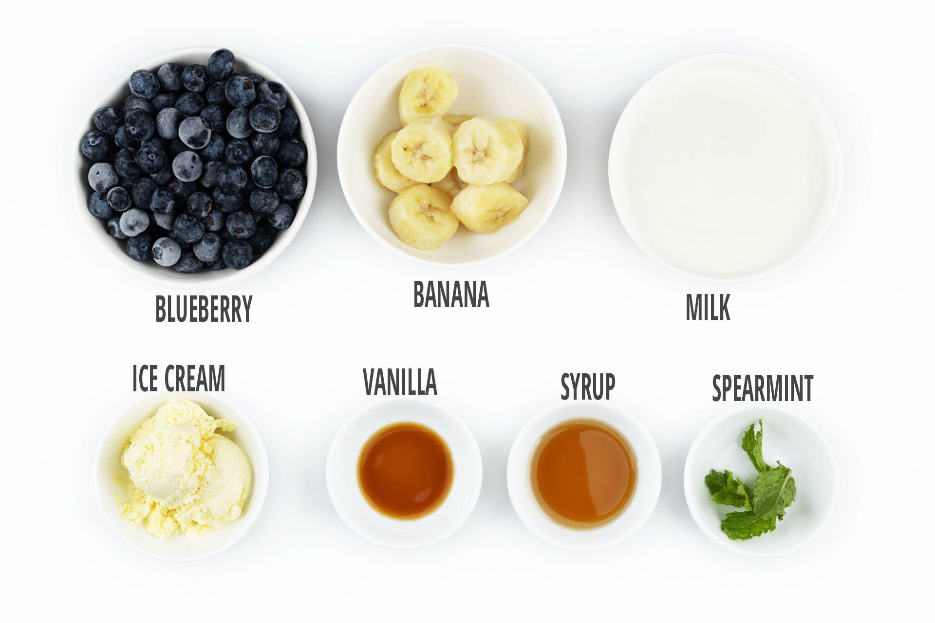 Blueberry Banana Smoothie Ingredient