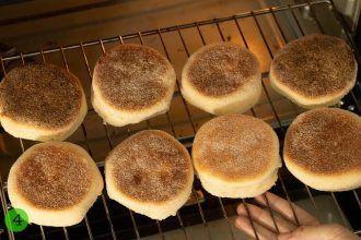 step 4 Toast English muffins