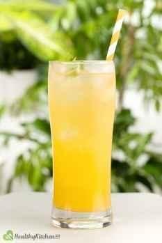 Ginger Ale and Orange Juice Recipe Healthy Kitchen 101