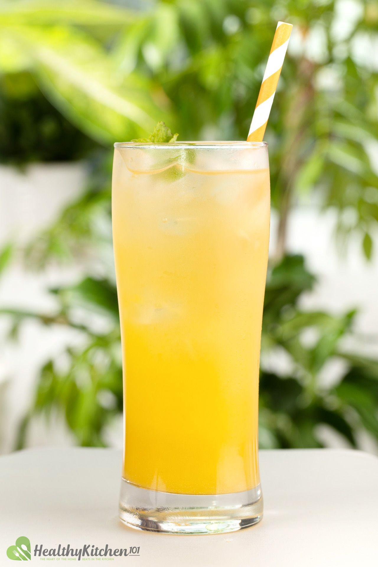 Homemade Ginger Ale and Orange Juice Recipe