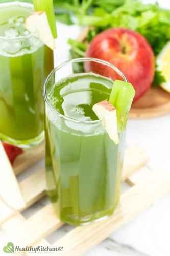 Healthy Apple Celery Juice