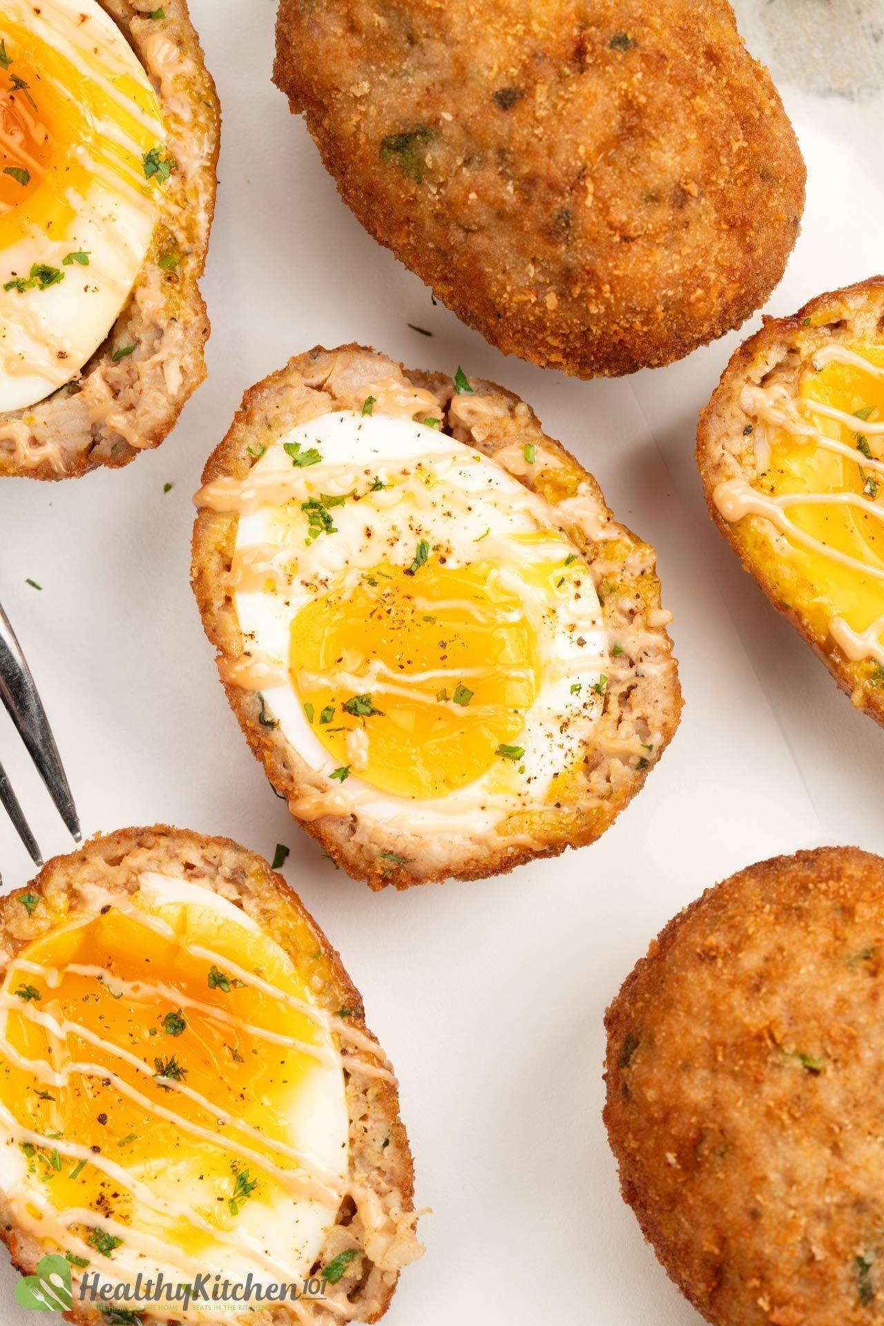 Healthy Scotch Eggs Recipe
