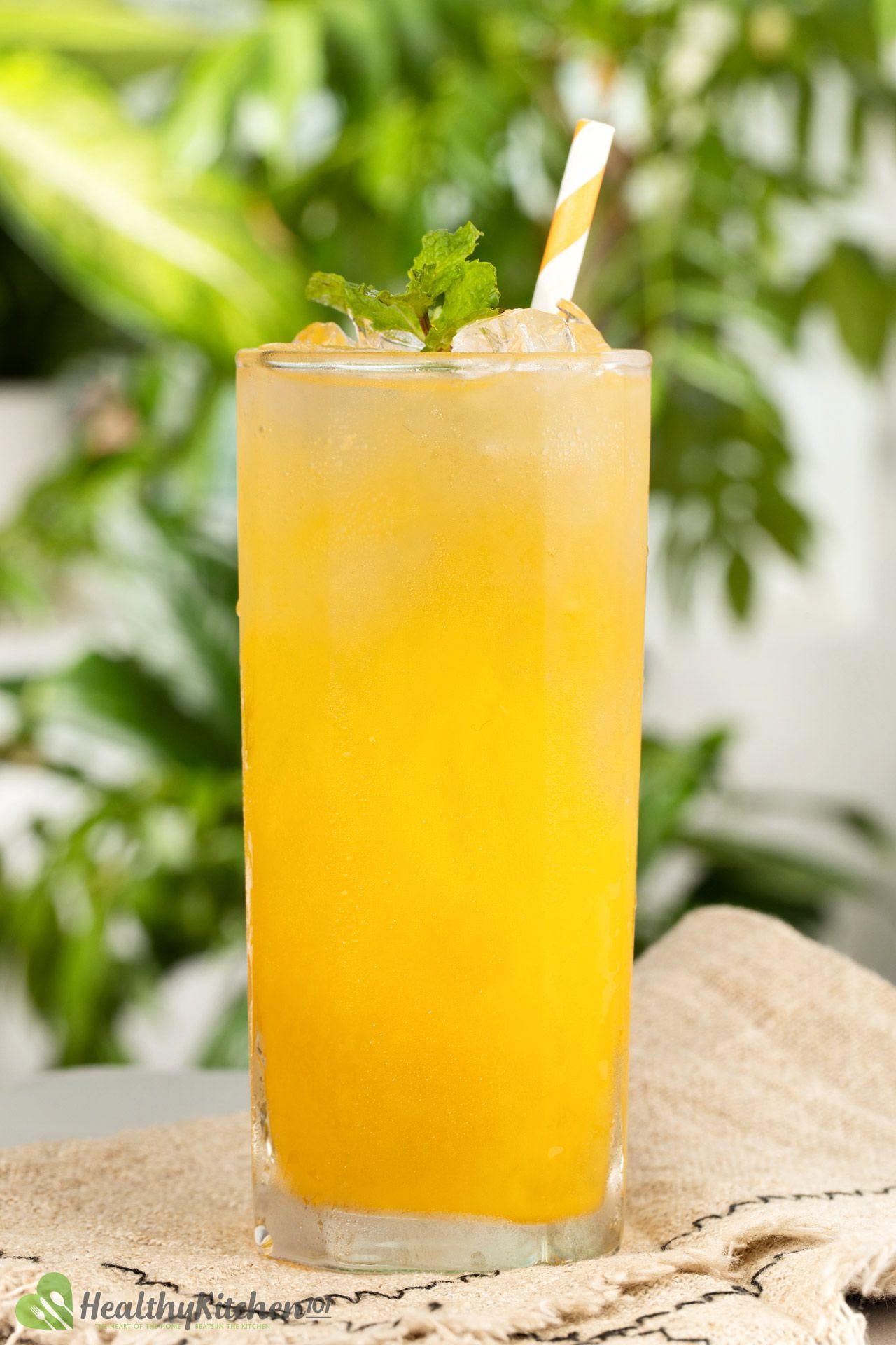 Ginger Ale and Orange Juice Recipe