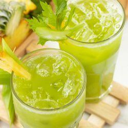 is pineapple celery healthy