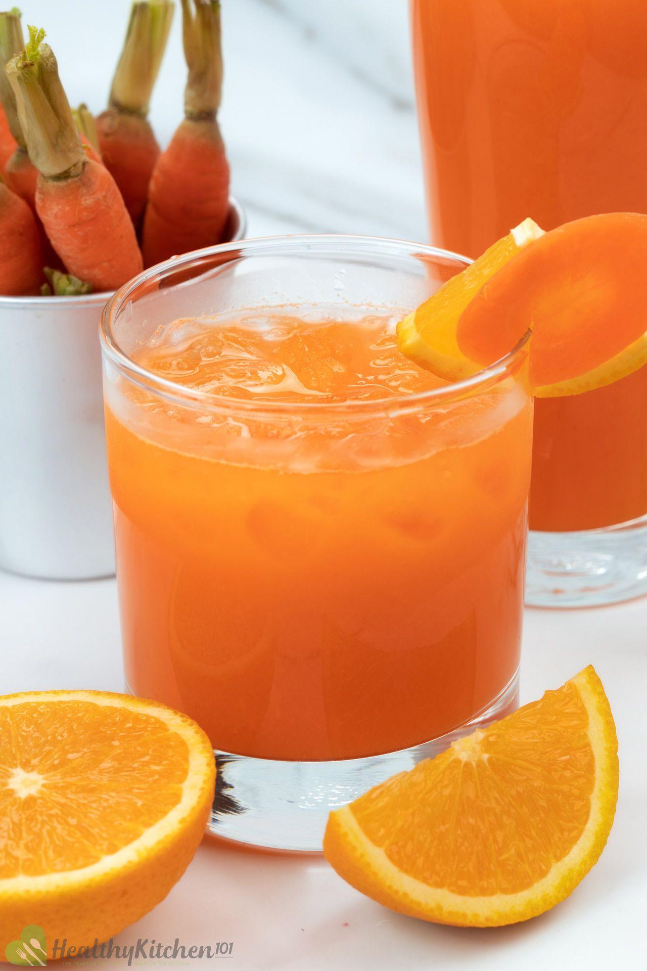 benefits of Carrot Orange Juice Recipe