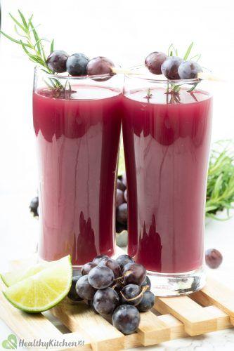 Concord Grape Juice Recipe