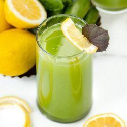 homemade cucumber and lemon juice recipe