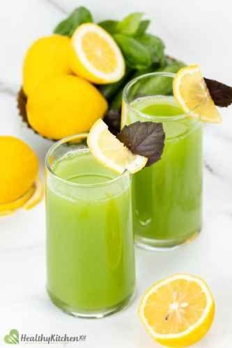 Does Cucumber and Lemon Juice have detoxification property