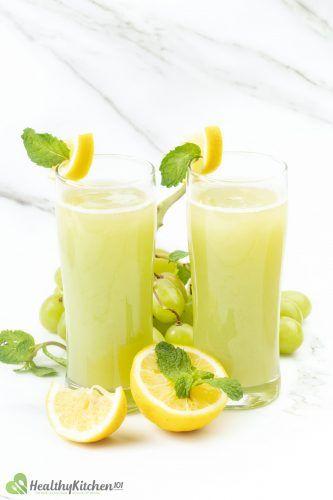 Green Grape Juice Recipe