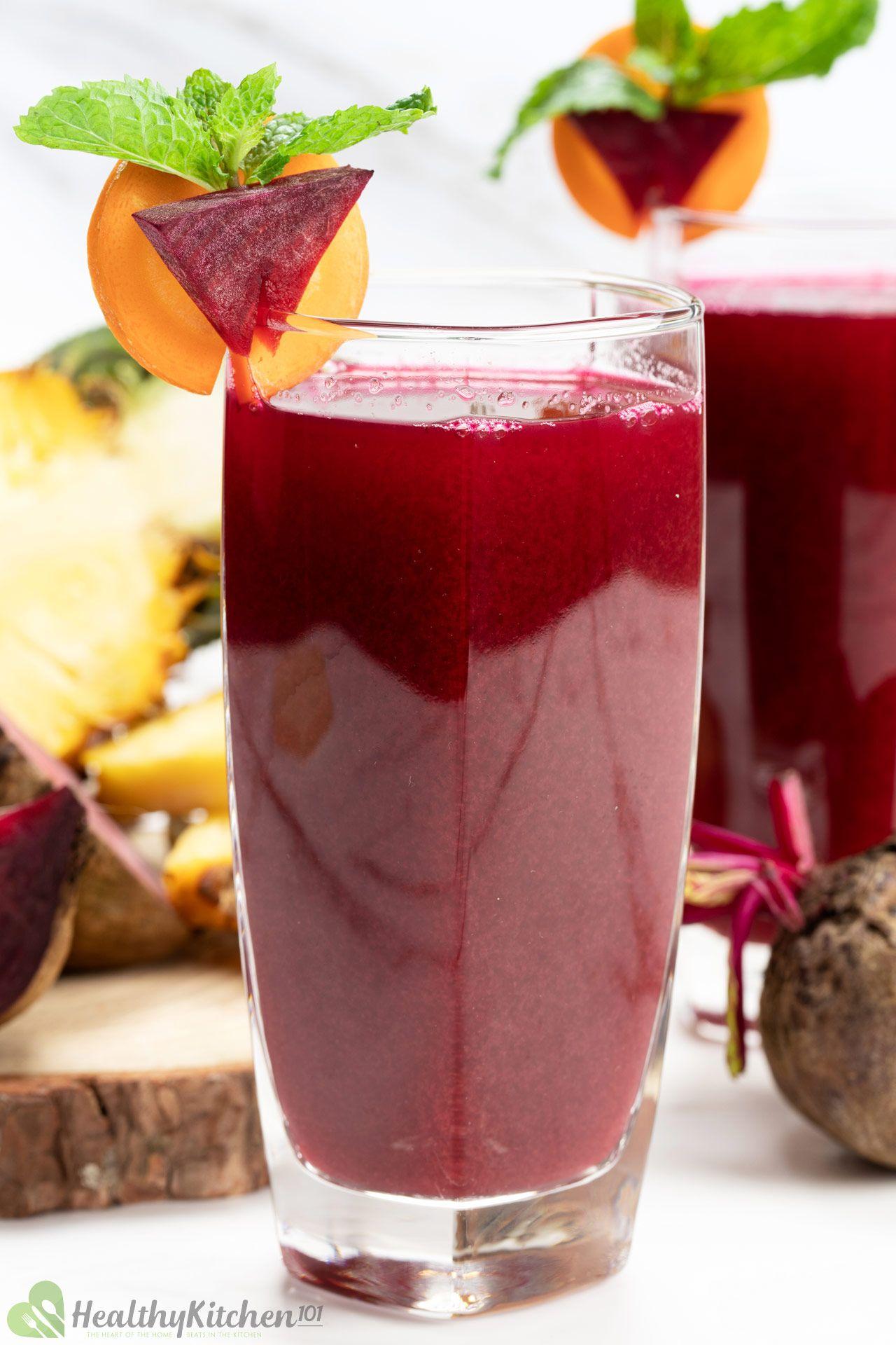 Healthy Carrot beet Juice Juice Recipe