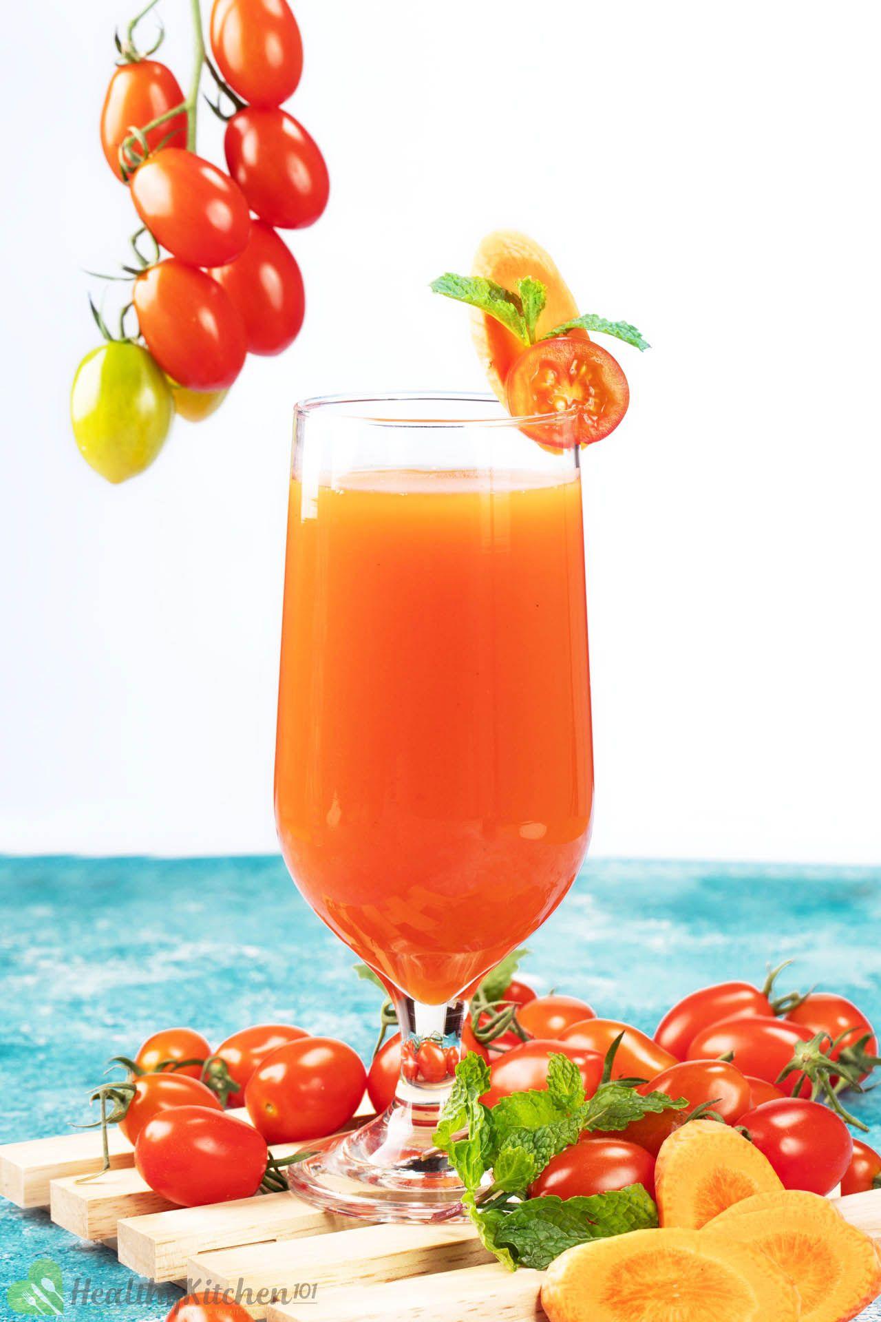 Carrot Tomato Juice Recipe