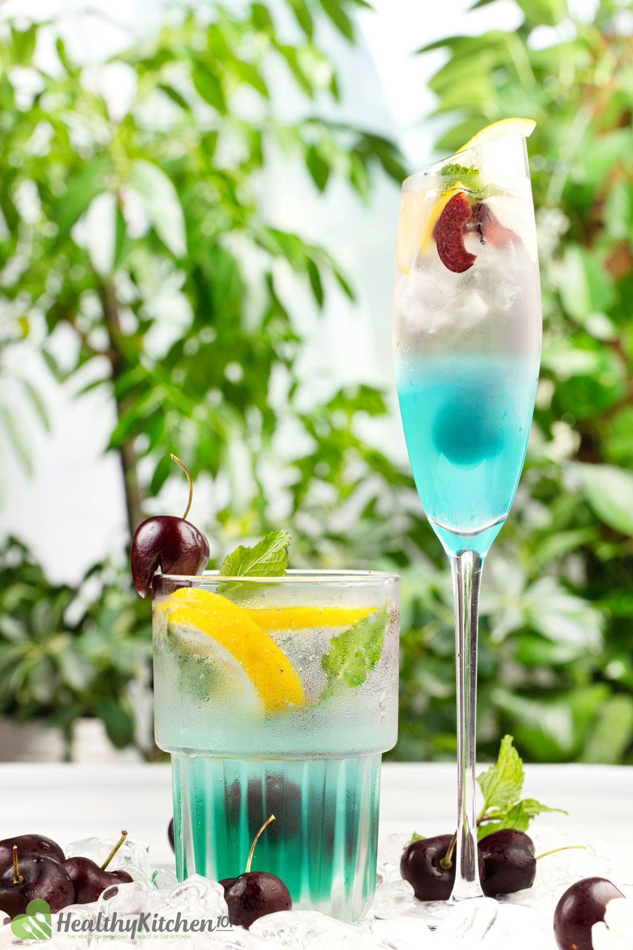 Homemade Blue Jungle Juice