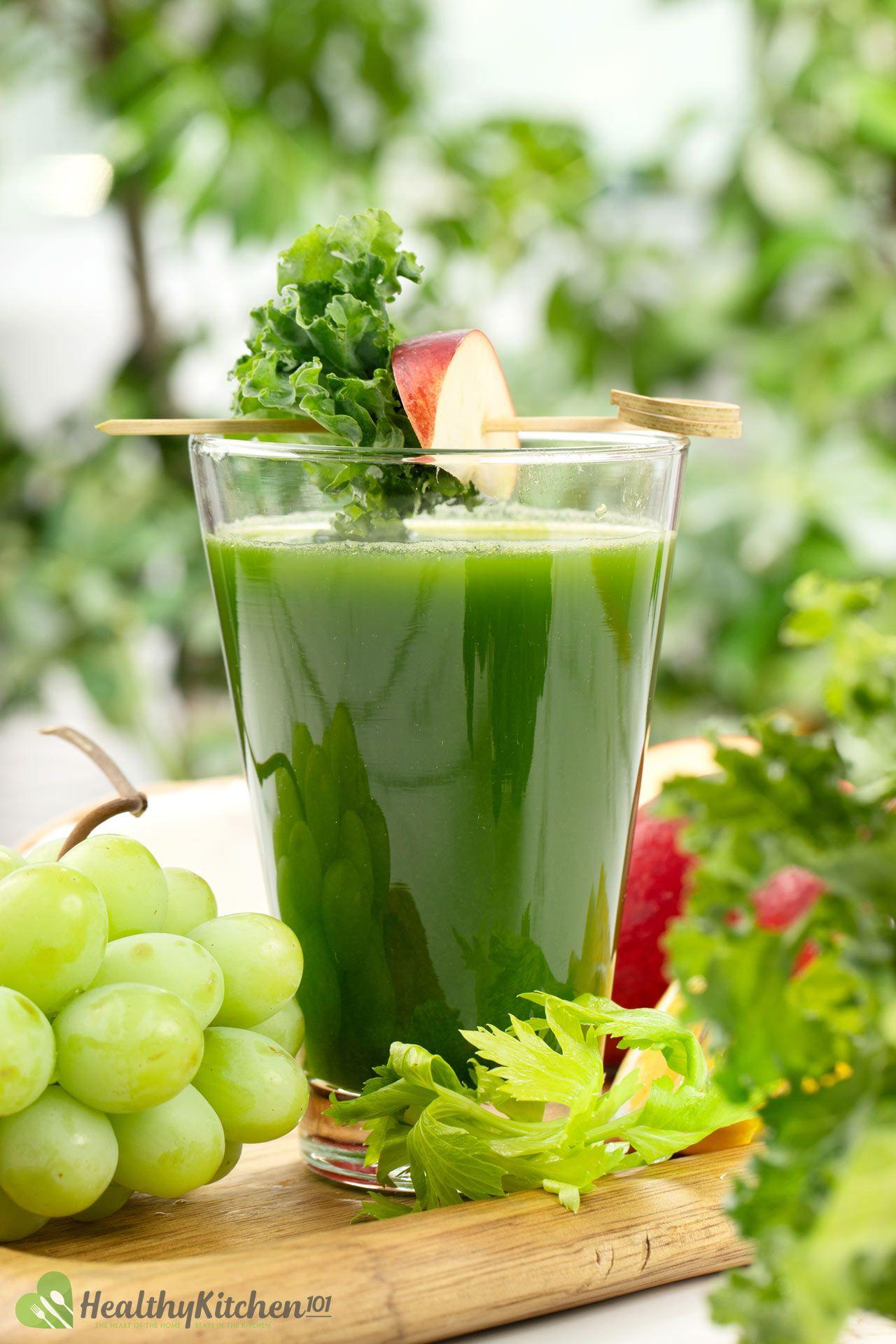 Homemade Green Machine Juice Recipe